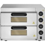 Electric Pizza oven 4+4 pizzas of 8'' | Adexa PO04