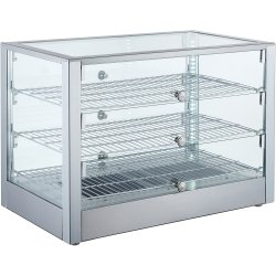 Heated display case 115 litres Countertop   Adexa RTR115L