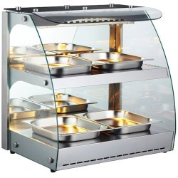 Heated display case 0.48m2 Countertop | Adexa RTR2D