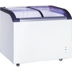 Commercial Display Chest freezer Curved sliding glass lid 273 litres | Adexa SD320Q