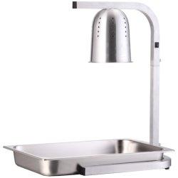 Commercial Food warmer 1 heating lamp GN1/1 | Adexa WL275