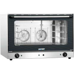 Commercial Electric Convection Oven with Steam 4 trays 600x400mm | Adexa YSD8A