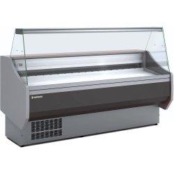 Serve over counter 1 glass shelf Straight glass Cold storage Width 1525mm Depth 940mm | Coreco CVED915R