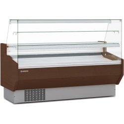 Serve over counter 2 glass shelves Vertical glass Cold storage Width 1525mm Depth 940mm | Coreco CVEDP915RR
