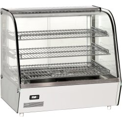 Heated display case 120 litres Countertop | Adexa RTR120L