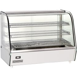 Heated display case 160 litres Countertop | Adexa RTR160L