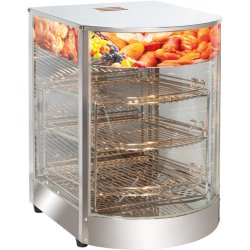 Commercial Hot display food warmer Countertop | Adexa FW1P