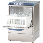 Commercial Glasswasher 800-1000 glasses/hour 350mm basket Gravity drain 13A | Omniwash 3500ST