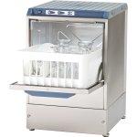 Commercial Glasswasher 800-1000 glasses/hour 350mm basket Gravity drain 13A | Omniwash 3500ST