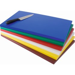 Professional Cutting Board Blue Polyethylene 600x400x20mm | Adexa 4757B