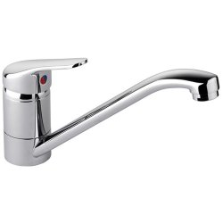 Kitchen Sink Mixer Tap Single lever Chrome | Adexa 50128000