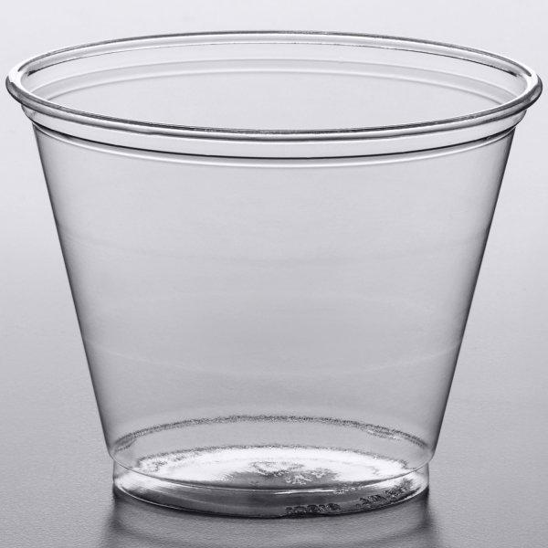 1000pcs PET Plastic Cold Beverage Cup Clear 9oz/266ml   Adexa CBC0992