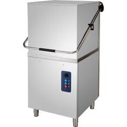 Pass through dishwasher 1080 plates/hour Gravity drain 400V | Adexa DW1040TP