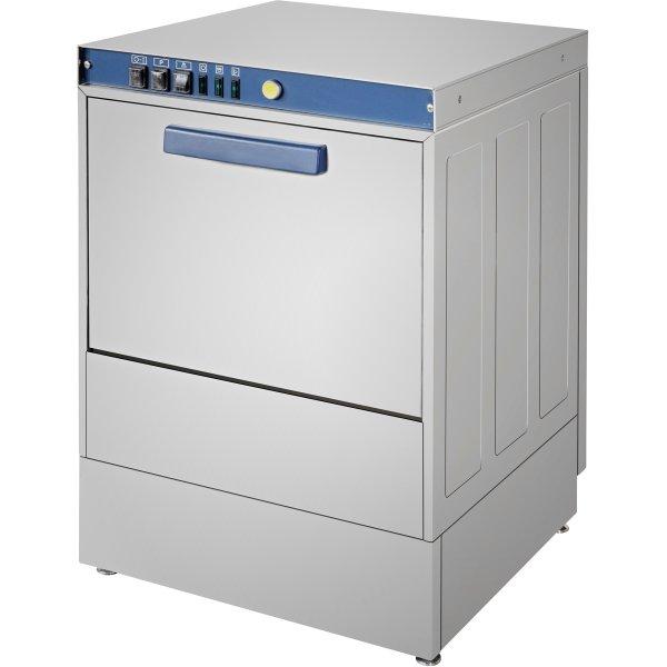 Dishwasher 540 plates/hour 500mm basket Drain pump Rinse aid pump Detergent pump 16A | Adexa DWASH50XL