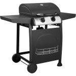 Gas BBQ Grill with 2 burners & side trays | Adexa E10C10C32