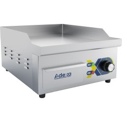 Commercial Griddle Smooth 360x470x220mm 2kW Electric | Adexa EG360