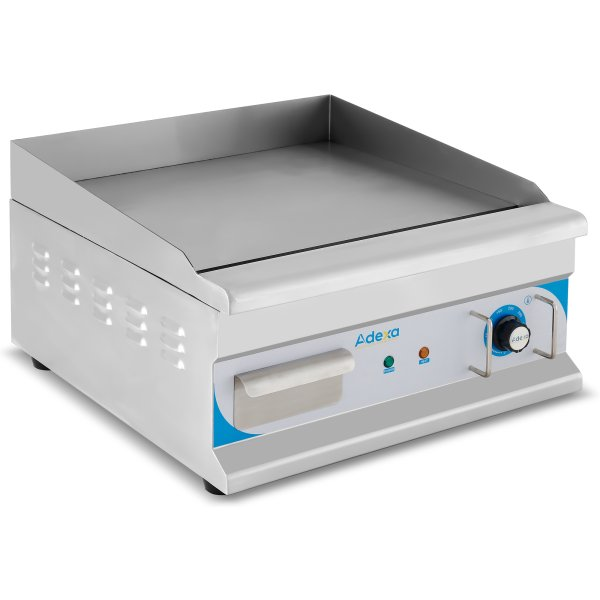 Commercial Griddle Smooth 500x520x310mm 3kW Electric | Adexa EG500