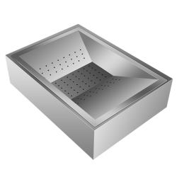 Table Top Chip Station Stainless Steel | Adexa FFS01A