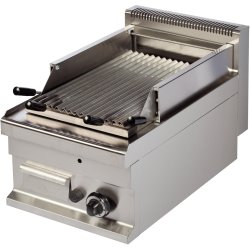 Commercial Gas chargrill 1 zone 6.0kW Table top | Adexa Hotmax 700 GGL711S