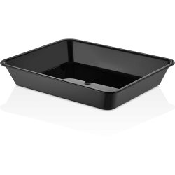 Polycarbonate Tray GN1/2 Depth 50mm Black 2 litres | Adexa GNP1250SWB