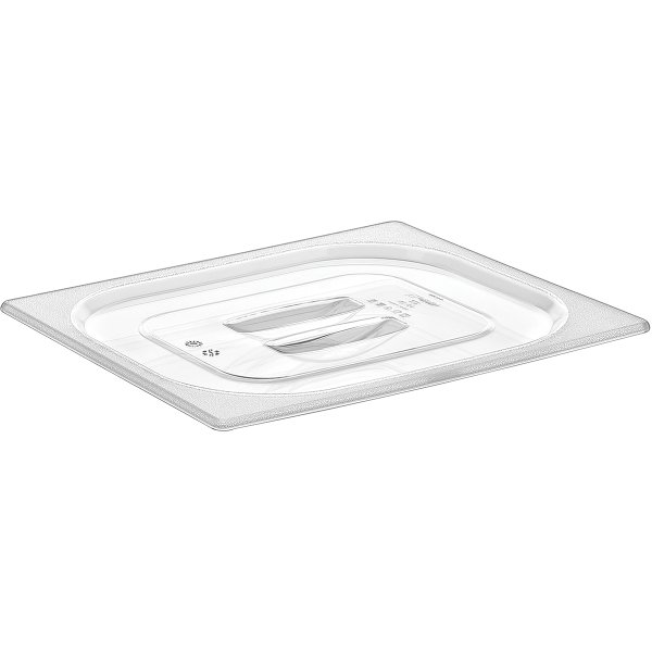 Polycarbonate Gastronorm Pan Lid GN1/2 Clear | Adexa GNPL12