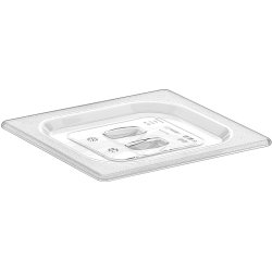 Polycarbonate Gastronorm Pan Lid GN1/6 Clear | Adexa GNPL16