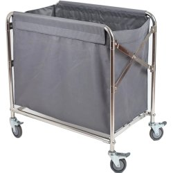 Foldable Linen Trolley 870x520x780mm | Adexa H080D
