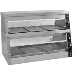 Commercial Hot Chicken Warmer / Heated Display 1219x690x830mm | Adexa HDS4