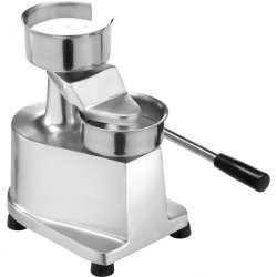 Commercial Hamburger press Ø100mm Aluminium | Adexa HF100
