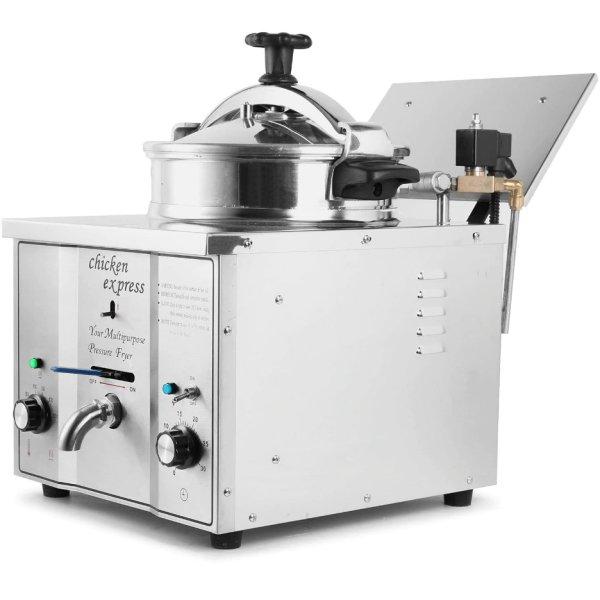 Commercial Pressure Fryer 15 litres 3kW Countertop | Adexa MDXZ16