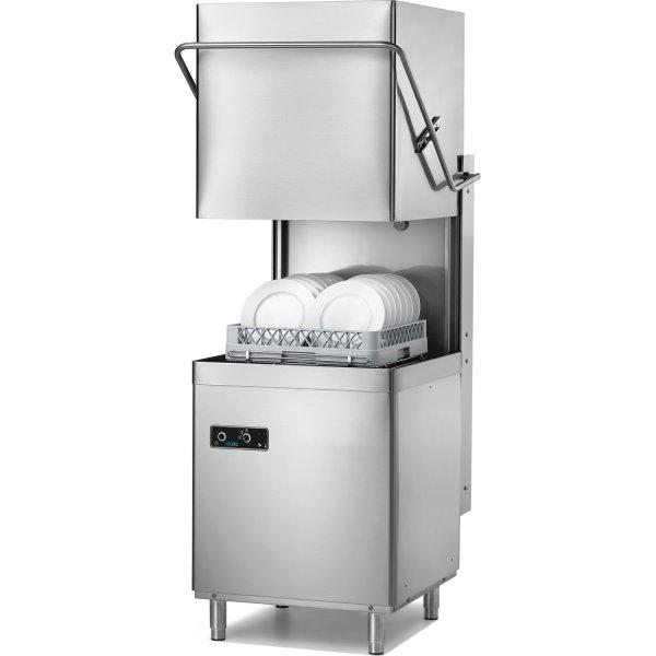 Passthrough Dishwasher Premium 500mm basket 48 baskets/hour Break tank Drain pump Detergent dosing pump 230V | Adexa ADX10MB