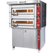 Electric Bakery Ovens Digital Controls