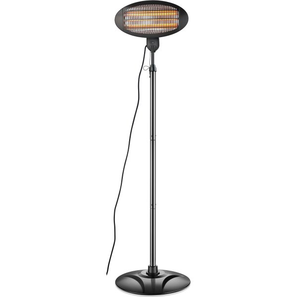 Infrared Patio Heater Floor standing 2kW | Adexa PNH2000DI