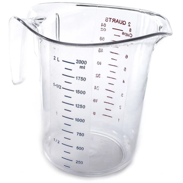 Polycarbonate Measuring Jug 2 litre Heavy duty | Adexa MC2
