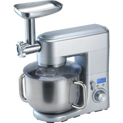 Professional Countertop Planetary mixer 10 litres with Meat grinder & Sausage & Pasta maker 1.5kW Stainless steel | Adexa SM2088G