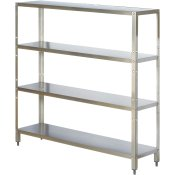 Heavy Duty Stainless Steel Shelving Units