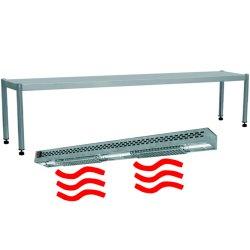 1 tier heated gantries