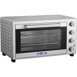 Commercial Mini Oven with Grid & Rotisserie 60 litres | Adexa TO6002