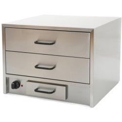 Commercial Bun Warmer / Warming Drawer Cabinet | Adexa WB02