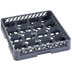Commercial Cups/Glass rack 16 compartments 500x500x100mm | Adexa WH060B16
