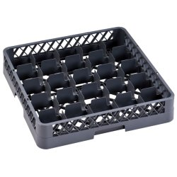Commercial Cups/Glass rack 25 compartments 500x500x100mm | Adexa WH060D25