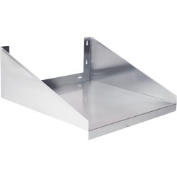Microwave Shelf Stainless steel 600x450mm | Adexa WMS450X600
