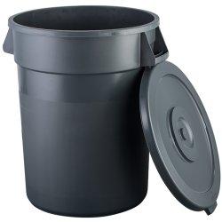 Waste Bin with Lid 130 litres Dark grey | Adexa XDW008