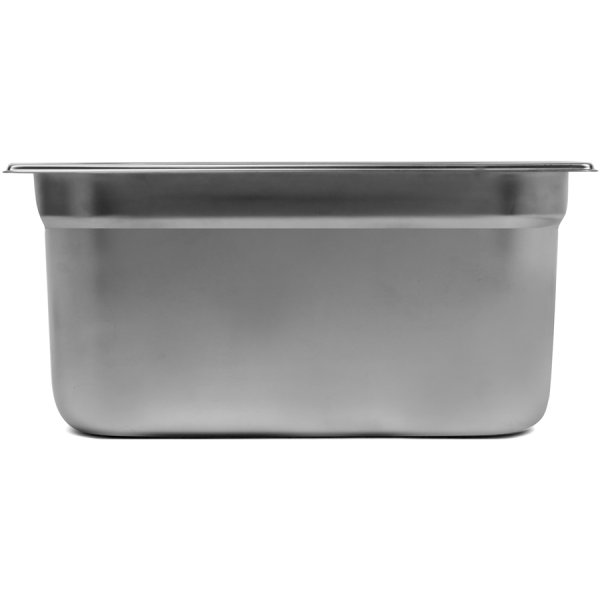Stainless steel Gastronorm Pan GN1/4 Depth 150mm