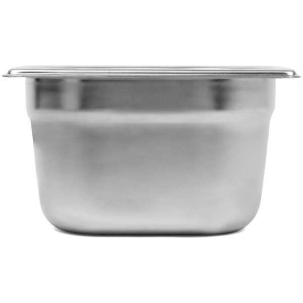 Stainless steel Gastronorm Pan GN1/6 Depth 100mm | Adexa E8016100-8164